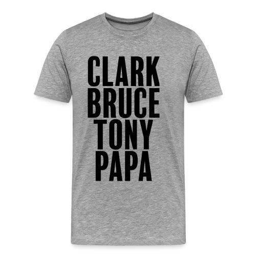 Mon père ce héro - T-shirt Premium Homme