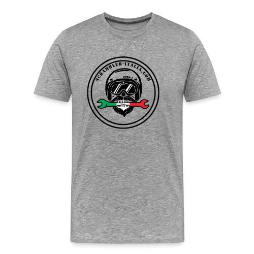 scram nero png - Maglietta Premium da uomo