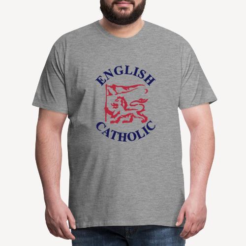 ENGLISH CATHOLIC - Men's Premium T-Shirt