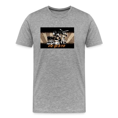 PZ-13-19-Tarantino-gelb - Männer Premium T-Shirt