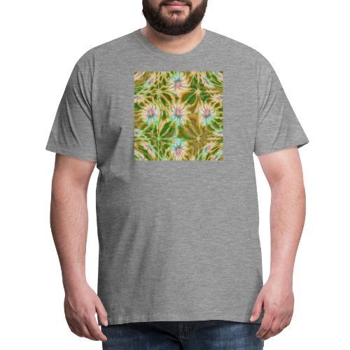 Fraktal Lea Square - Männer Premium T-Shirt