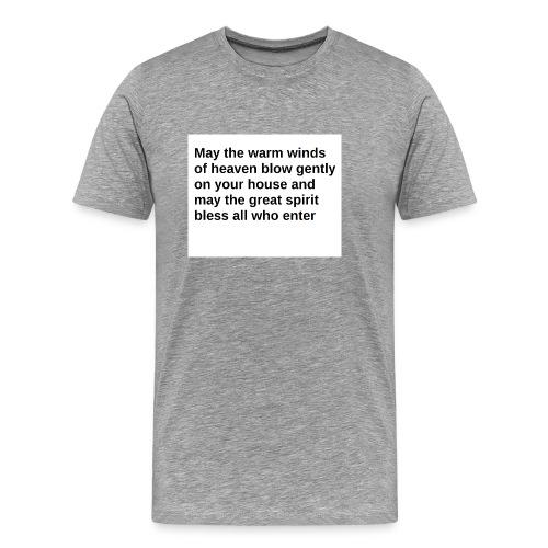 May the Warm Winds - Men's Premium T-Shirt