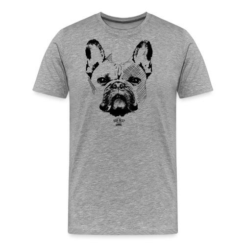 Französische Bulldogge Sketch - Männer Premium T-Shirt