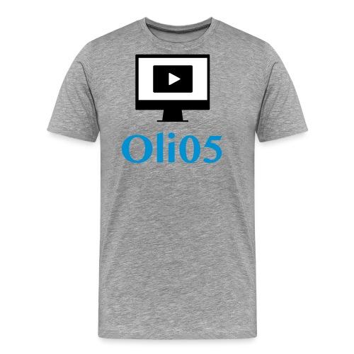 Oli05 Original logo - Premium T-skjorte for menn