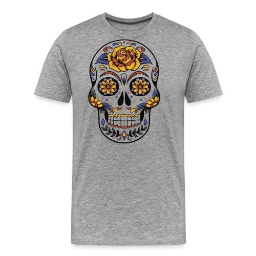 Mexican Skull - Men's Premium T-Shirt