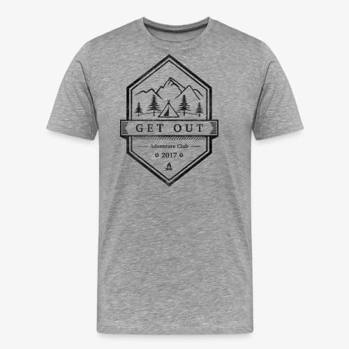 WappenBlackVintage - Männer Premium T-Shirt