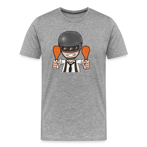 CHICKEN DINNER - Men's Premium T-Shirt