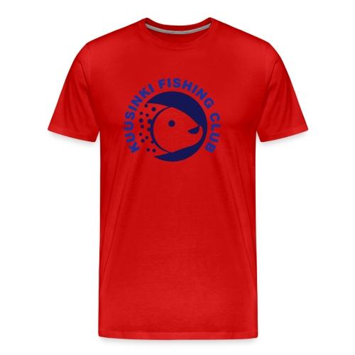 kuusinki fishing club - Miesten premium t-paita