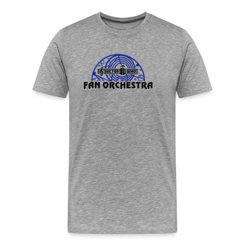 DWFO open arc black-txt - Men's Premium T-Shirt
