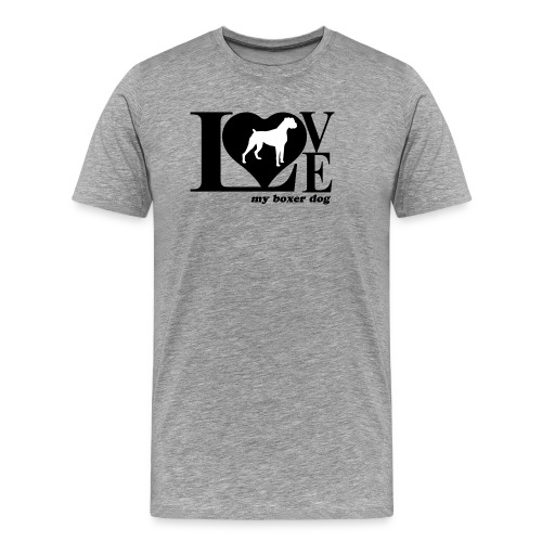 Amor de bóxer - Camiseta premium hombre