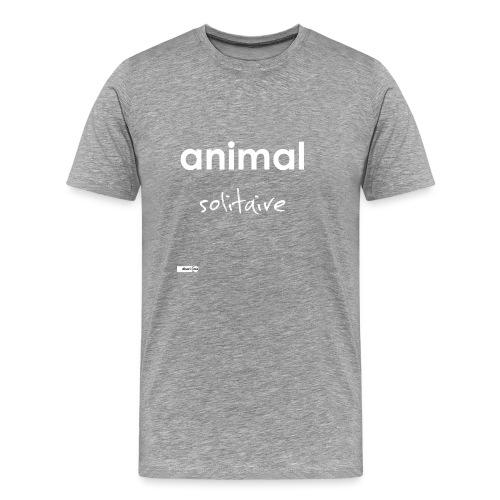 animal solitaire - T-shirt Premium Homme