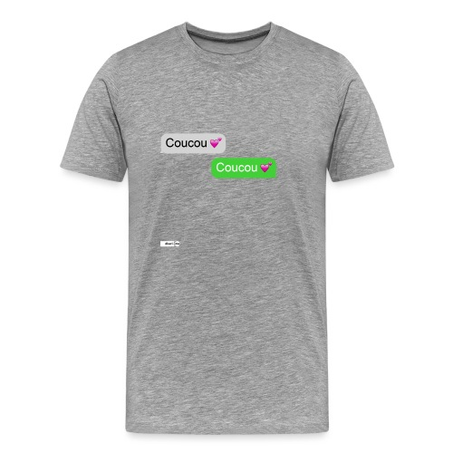 coucou mon coeur - T-shirt Premium Homme