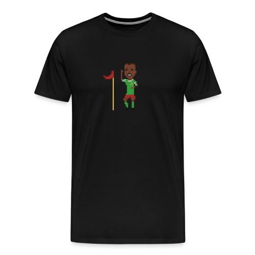 Flag corner dance - Men's Premium T-Shirt