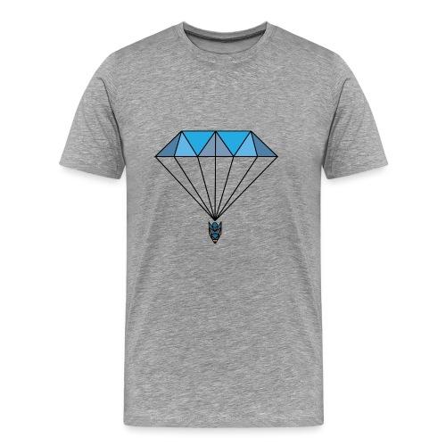 Diamant Glider - Bleu - T-shirt Premium Homme