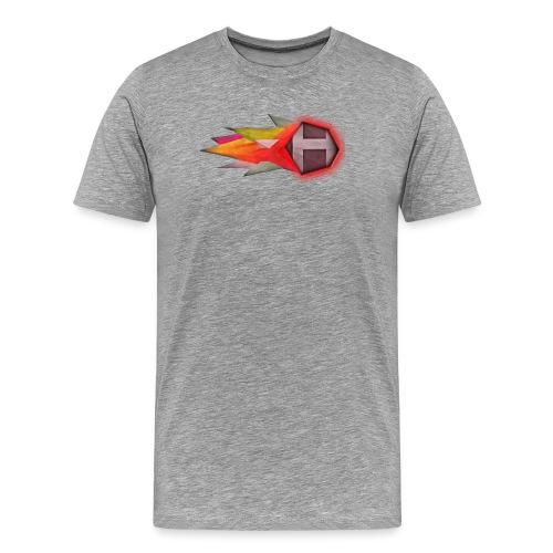 Abstract H LETTER - Mannen Premium T-shirt