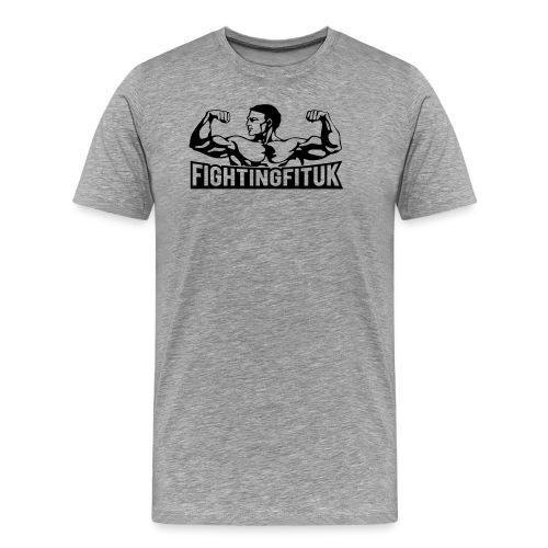new FFUK black vector - Men's Premium T-Shirt
