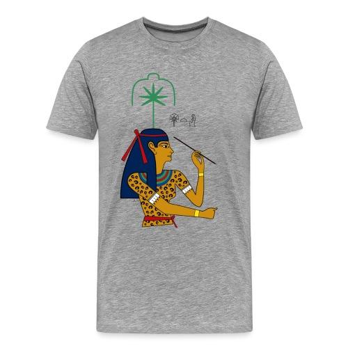 Seschat – altägyptische Göttin - Männer Premium T-Shirt