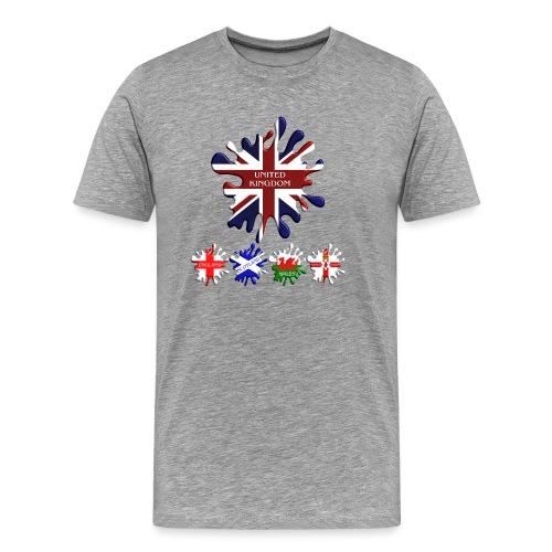 United Kingdom Flags - Men's Premium T-Shirt