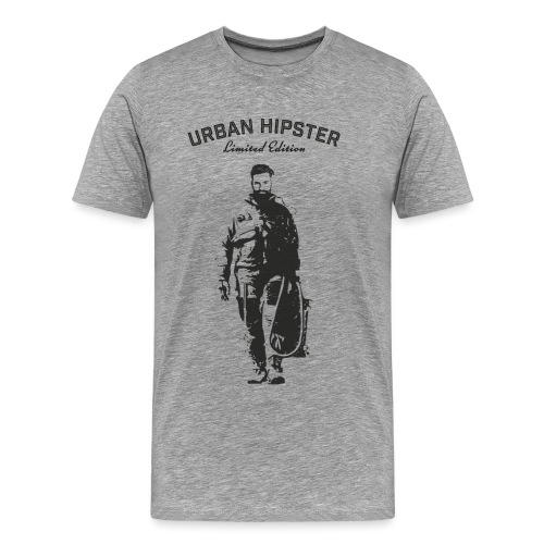 UrbanHipsterAstronaut28x2 - Men's Premium T-Shirt