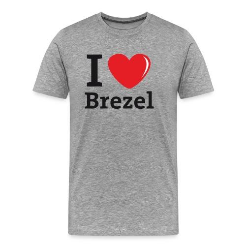 I love Brezel - Männer Premium T-Shirt