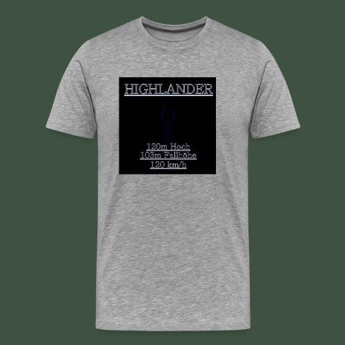 Highlander fashion - Männer Premium T-Shirt