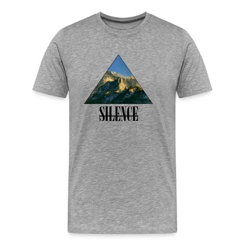 Silence - Männer Premium T-Shirt