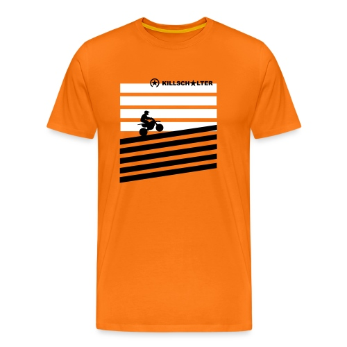 DIRT BIKE RIDER 0DR01 - Men's Premium T-Shirt
