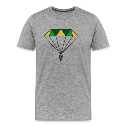 Green diamond - T-shirt Premium Homme