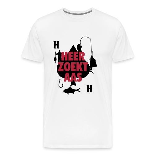 Heer zoekt aas - Mannen Premium T-shirt