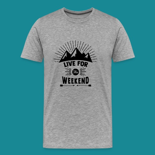 Mountain Rise - Men's Premium T-Shirt