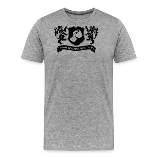 White Collar Boxing Hoodie Classic-Blue - Männer Premium T-Shirt