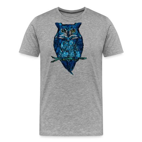 Ugle - Premium T-skjorte for menn