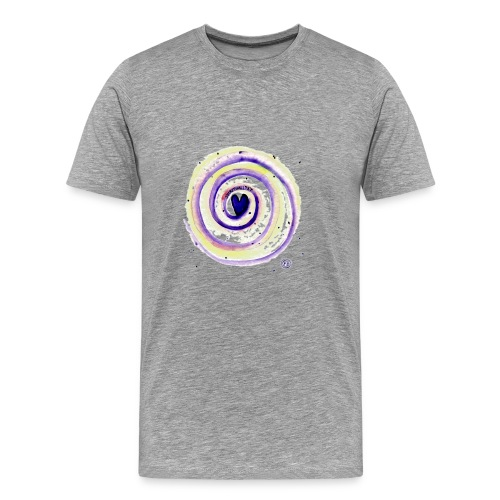 Energiespirale_Spiritualität - Männer Premium T-Shirt