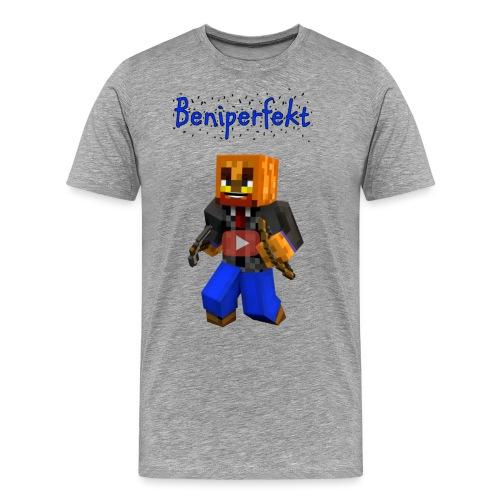 Beniperfekt T-Shirt für Männer - Männer Premium T-Shirt