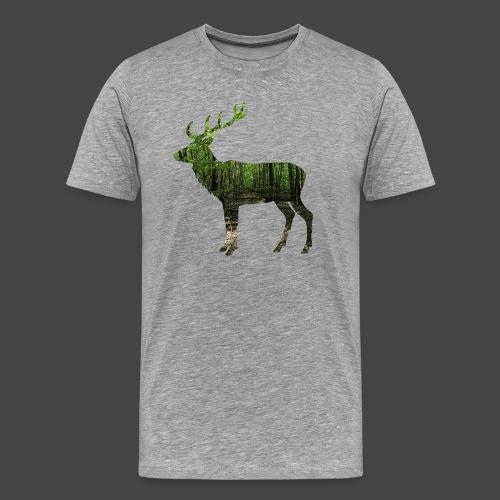 """""""Hirschwald""""-Jägershirt - Männer Premium T-Shirt"""