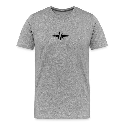 M Logo - Men's Premium T-Shirt