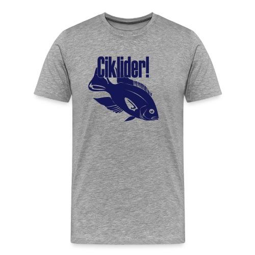 Ciklider - Premium T-skjorte for menn