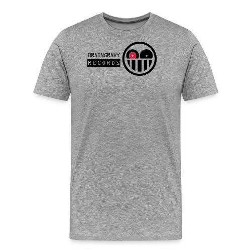 bgr 2 colour blk red - Men's Premium T-Shirt