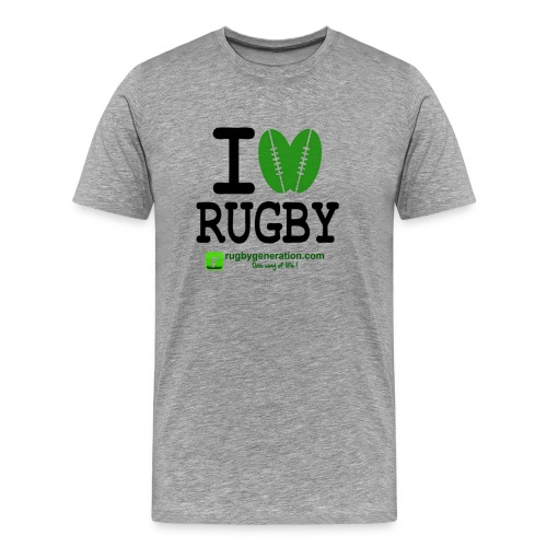 ILoveRugby png - T-shirt Premium Homme