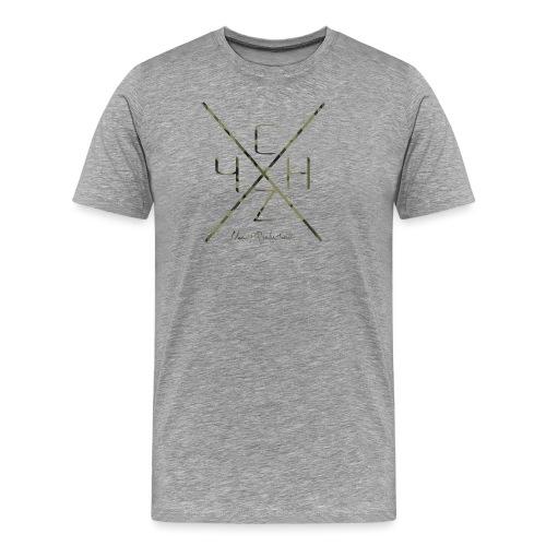 kreuz camo png - Männer Premium T-Shirt