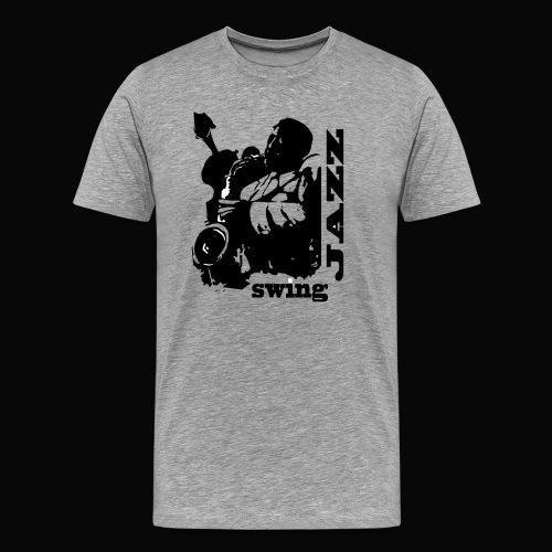 saxofonista - Camiseta premium hombre