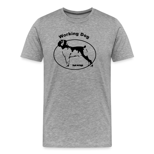Working Boerboel - Männer Premium T-Shirt