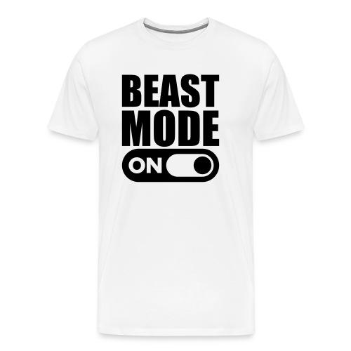BEAST MODE ON - Men's Premium T-Shirt
