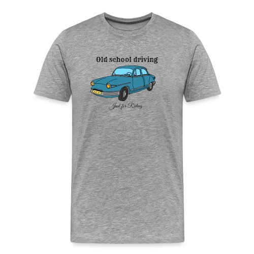 Old school driving - T-shirt Premium Homme