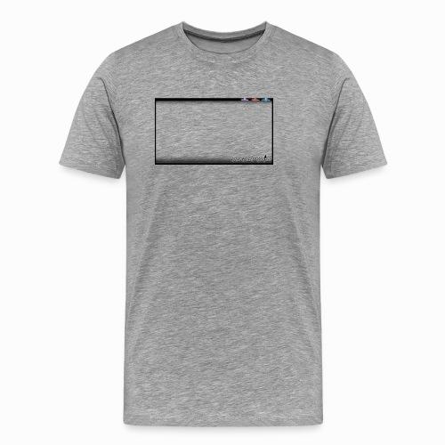 The Scots Review GO LIVE! Logo - Men's Premium T-Shirt