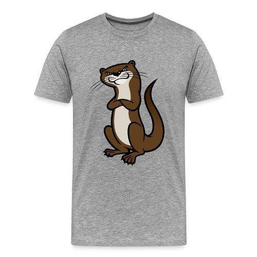 BIGOtter png - Men's Premium T-Shirt