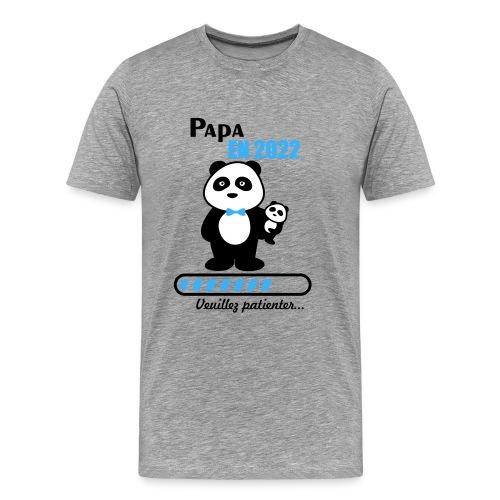 Papa en 2022 - Men's Premium T-Shirt
