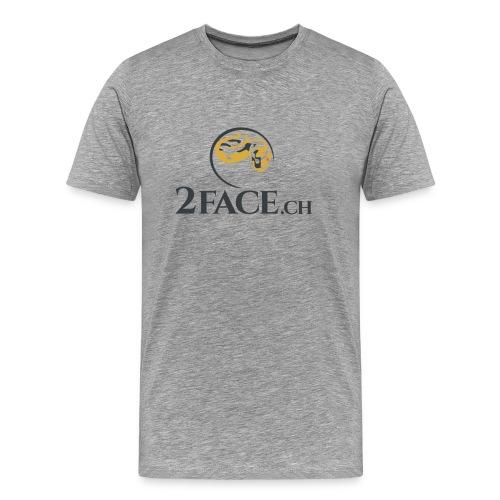 2face.ch - Männer Premium T-Shirt