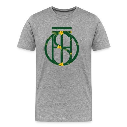 Flowerkleinhokkie gif - Mannen Premium T-shirt