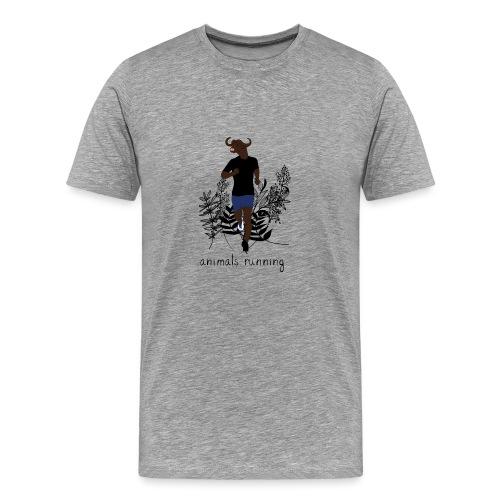 Buffle running - T-shirt Premium Homme